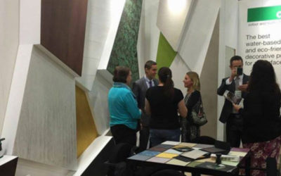Oikos – green surface solutions presented to American designers